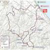 Giro d'Italia 2020: route 12th stage - source: www.giroditalia.it
