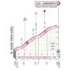 Giro d'Italia 2020: finish profile stage 2 - source: www.giroditalia.it