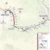 Giro d'Italia 2021: route Passo Fedaia stage 16 - source: www.giroditalia.it