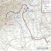 Giro d'Italia 2021: route stage 19 - source: www.giroditalia.it
