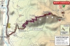 Giro 2014 stage 20: Map of the Monte Zoncolan