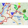 Giro Rosa 2016 Route stage 2: Tarcento - Montenars - source: girorosa.it
