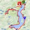 Giro Rosa 2016 Route stage 4: Costa Volopino - Lovere - source: girorosa.it