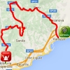 Giro Rosa 2016 Route stage 7: Albisola Superiore - Varazze - source: girorosa.it