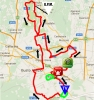 Giro Rosa 2016 Route stage 8: Rescaldina - Legnano - source: girorosa.it