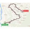 Giro Rosa 2019: route 1st stage - source: girorosaiccrea.it