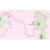 Giro Rosa 2020: route 2nd stage - source: girorosaiccrea.it