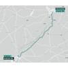 Giro Rosa 2021: route 1st stage - source: girorosaiccrea.it