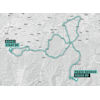 Giro Rosa 2021: route stage 2 - source: giroditaliadonne.it