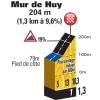 La Flèche Wallonne 2015: Details Mûr de Huy - source: letour.fr