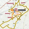 La Flèche Wallonne Femmes 2017: Route - source: letour.fr