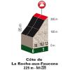 Liège–Bastogne–Liège 2017: Climb details Côte de la Roch aux Faucons - source:letour.fr