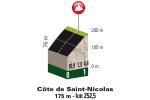 Liège–Bastogne–Liège 2017: Climb details Côte de Saint Nicolas - source:letour.fr
