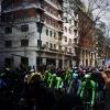 Milan - San Remo 2014: It rained in Milan - source @Milano_Sanremo