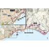 Map of San Remo - The finish of Milan - San Remo 2015