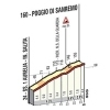 Milan-San Remo 2019: details of the Poggio - source: milanosanremo.it