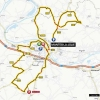Paris - Nice 2014 Route of stage 1 - around Mantes-la-Jolie