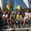 Paris - Nice 2014 stage 2: At the start in Rambouillet. The men in the jerseys - source: letour.fr