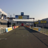 Paris - Nice 2014 Stage 3: Early morning at the arrival at Magny-Cours - source: letour.fr