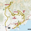 Paris - Nice 2014 Route Stage 8 from Nice to Nice