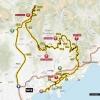 Paris - Nice 2014 Route Stage 8 from Nice to Nice