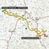 Paris-Nice 2015: Route stage 2 - source: GeoAtlas