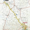Paris - Nice 2016 Route stage 2: Contres - Commentry - source: letour.fr