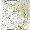 Paris - Nice 2016 Route stage 5: Saint Paul Trois Châteaux – Salon de Provence - source: letour.fr