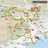 Paris - Nice 2016 Route stage 6: Nice – La Madone d'Utelle - source: letour.fr
