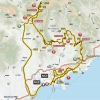 Paris - Nice 2016 Route stage 7: Nice - Nice - source: letour.fr