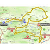Paris - Nice 2019 Route 6th stage - source: www.paris-nice.fr