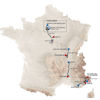 Paris - Nice 2021: entire route - source: www.paris-nice.fr