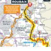 Paris-Roubaix 2018: Map final sectors - source: letour.fr