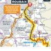 Paris-Roubaix 2018: Map final sectors - source: letour.fr