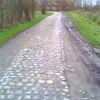 Paris-Roubaix 2015: Cobbled sector of Gruson au Carrefour de l'Arbre