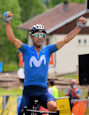 Critérium du Dauphiné 2021: Uphill sprint win Valverde, Lutsenko new leader