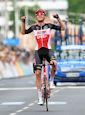 Brent Van Moer - Critérium du Dauphiné 2021: Van Moer solos to first leader's jersey