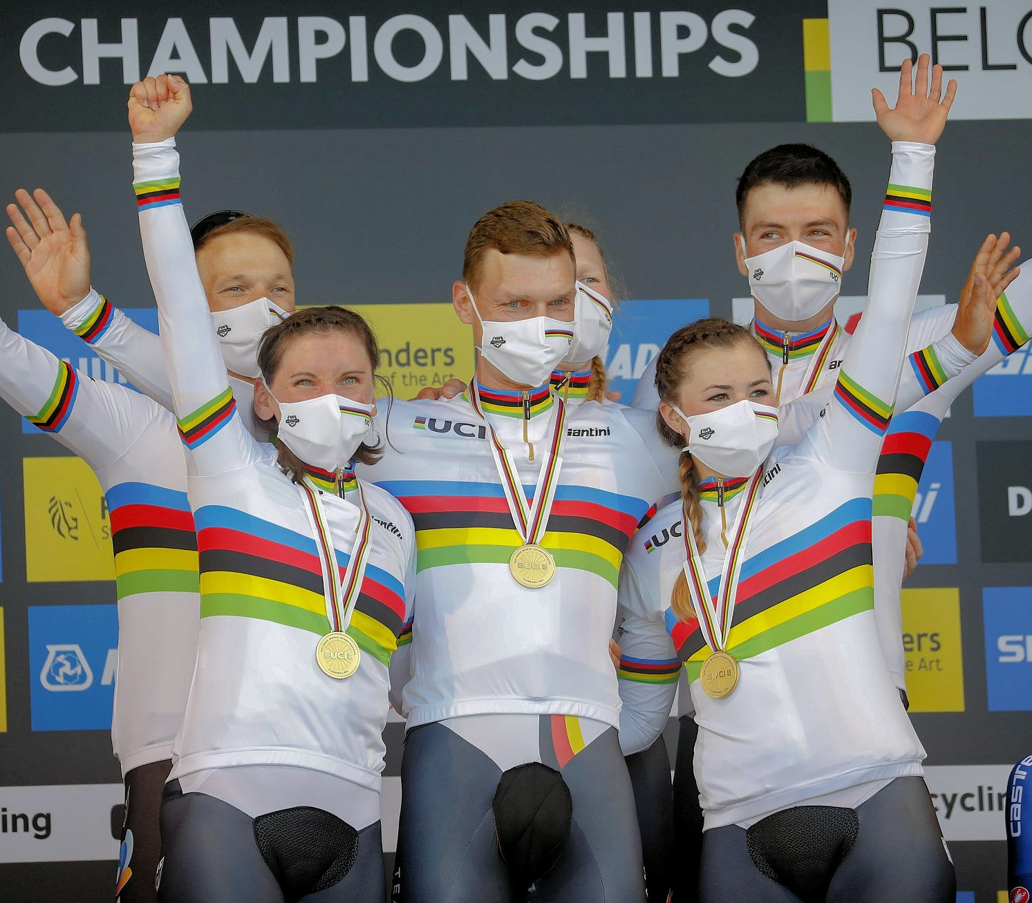 Mixed relay - World Cycling Championships 2021 Flanders: Germany takes gold in Mixed Relay
