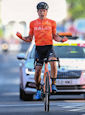Robin Carpenter - Tour of Britain 2021: Carpenter solos to victory and race lead