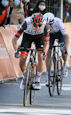 Tadej Pogacar lbl - Liège-Bastogne-Liège 2021: Pogacar wins five-up sprint