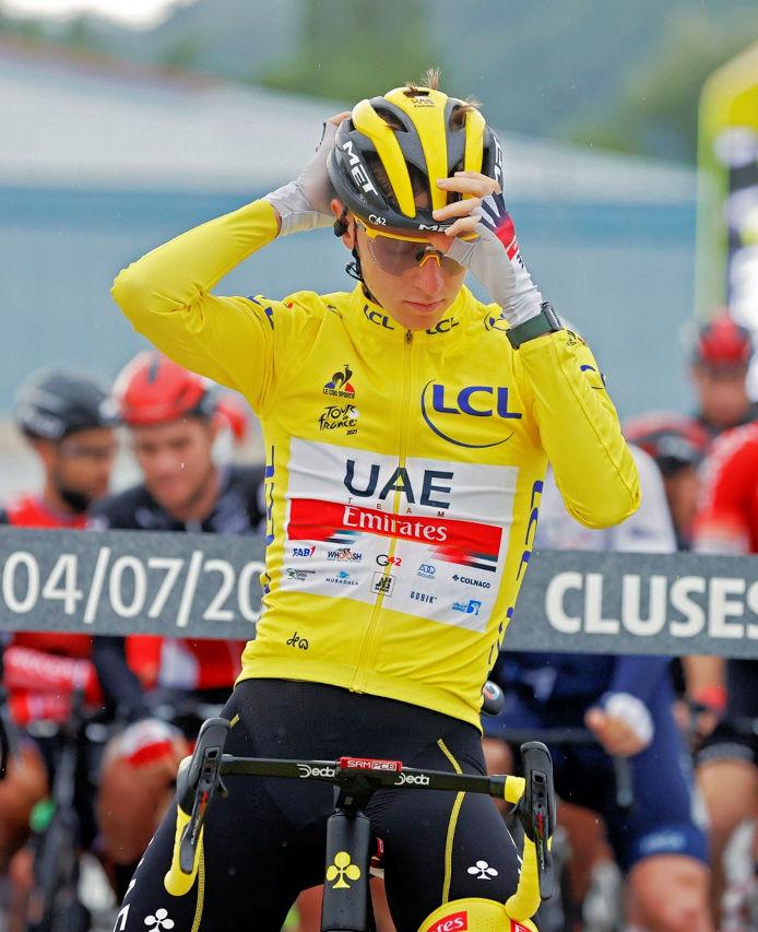 Tadej pogacar - Tour de France 2021: Results