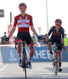 Tadej Pogacar UAE - UAE Tour 2021: Pogacar bests Yates in two-up sprint to cement lead