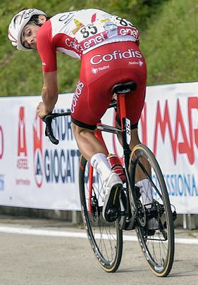 Victor Lafay - Giro 2021: Lafay wins from the breakaway, Valter stays in pink