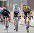 Wout Van Aert agr - Amstel Gold Race 2021: Van Aert wins three-up sprint