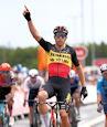 Wout van Aert gb - Tour of Britain 2021: Van Aert wins ten-up sprint, Hayter remains leader