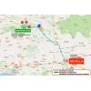 Ruta del Sol 2016 Route stage 1 Almonstar - Seville - source: www.vueltaandalucia.es