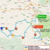 Ruta del Sol 2016 Route stage 3 Monachil - El Padul - source: www.vueltaandalucia.es