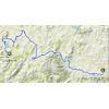 Ruta del Sol 2020 Route 1st stage - source: www.vueltaandalucia.es