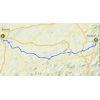 Ruta del Sol 2020 Route 2nd stage - source: www.vueltaandalucia.es