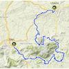 Ruta del Sol 2020 Route 3rd stage - source: www.vueltaandalucia.es